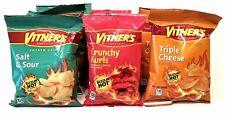 VITNER'S Sizzlin' Hot Assortment! Crunchy Curls, Triple Cheese,  & Salt & Sour