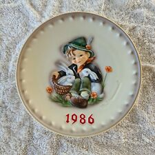 16th Annual Plate 1986 Collectible Goebel Mj Hummel Plate Germany Playmates
