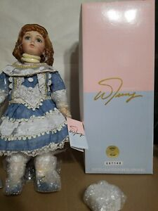 William Tung Collection Porcelain Doll Limited to 200 Sugar 25 inches tall