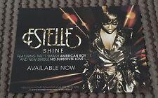 Estelle Shine / American Boy Promotional Postcard