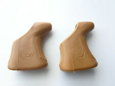 One Pair of Campagnolo Shield Brake Lever Hoods brown Nuovo / Super record