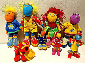 cBeebies Tweenies Figures Bundle Hasbro Soft Toys 2001 & McDonalds