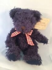 Russ Berrie ~ Bears From The Past ~ Darby ~ Shaggy Hair Plush With Tag ~ Teddy