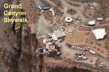 Grand Canyon West Skywalk Arizona, Glass Walkway Aerial View, AZ Park - Postcard