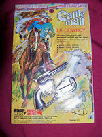 Vintage Midget Cap Gun Keychain Little Toy Pistol Mini Cowboy Western Edge Mark