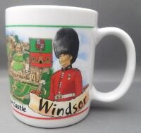 Windsor Castle Soldier Guard Collectible Coffee Tea Mug Cup