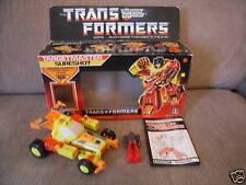 Transformers G1 Action- & Spielfiguren mit Original-Verpackung (geöffnet)