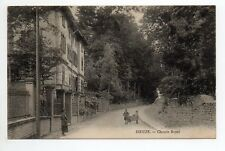 DIEUZE DUSS Moselle CPA 57 chemin royal