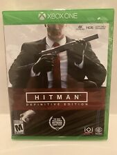 Hitman Definitive Edition  / Xbox One / BRAND NEW FACTORY SEALED!!!
