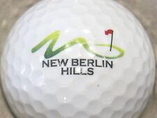 (1) New Berlin Hills Golf Course Logo Golf Ball