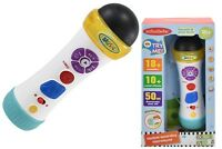New Musical Recording Microphone Educational Toy With Sounds & Activity For Baby