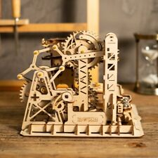 ROKR Wooden Model Building Kits STEM Toy for Teens Kids Marble Run Construction