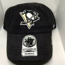 810c47b4faa NHL Pittsburgh Penguins Women s  47 Miata Clean up Adjustable Hat Black ...
