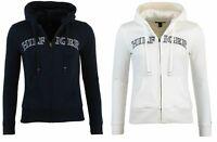 Tommy Hilfiger Women's Full Zip Hoodie Logo Sweatshirt