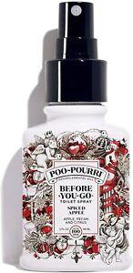 Poo-Pourri Spiced Apple Scent Odor Eliminator One 2 oz Liquid Spray Bottle