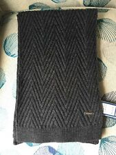 Ryan Sea-crest Distinction One Size Men's Scarf Choral / Gray NWT Retail $65.00
