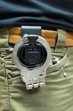 Orpaz Defense Polymer Handcuffs Holster Belt Clip Attachment - Handcuffs Holder