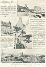 AVESNES BRASSERIE L' UNION DERIEUX CAMBRAI SCIERIE GEORGES BREARD 1921