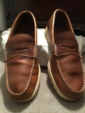 MENS QUODDY SPORT PENNY LOAFER WITH COMFORT LUG VIBRAM SOLE 10.5 D