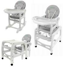 Babyhochstuhl 3in1 Hochstuhl Babystuhl Hochstuhl mit Essbrett Kinderhochstuhl