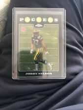 JORDY NELSON 2008 TOPPS CHROME REFRACTOR #207 ROOKIE CARD