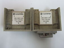 LOT of 2: HARRIS 094-108611-007 5.8-7.125GHz D/C 3598 with 1x SD-80862-M3