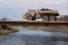 667094 Earth moving Equipment At Construction Site Nova Scotia A4 Photo Print