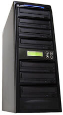 1-6 24X Burner CD DVD Disc Duplicator Multi Media Copier Recording Disk Drive