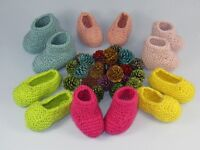 PRINTED  INSTRUCTIONS-REALLY EASY  FAST BABY BOOTIES & SLIPPERS KNITTING PATTERN