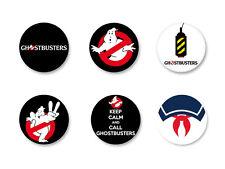 Lot Pack Badge Button Ø25mm Film Movie SOS Fantômes Ghostbusters