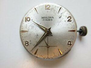 Mildia AS A. Schild cal. 1130 Swiss watch movement sub seconds - running