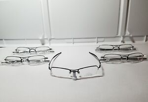 "Oakley "" 5 Pieces/ Frames ""Hollowpoint 2.0"" New "" Polished Black/50-19 Size"