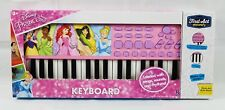 Disney Princess Pink Keyboard First Act Discovery Girl Birthday Music Dp138 New!