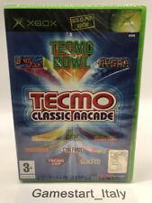 TECMO CLASSIC ARCADE - XBOX - NUOVO SIGILLATO - NEW SEALED PAL - BOMB JACK RYGAR