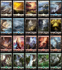MAGIC THE GATHERING BFZ FULL ART LAND PACK 100CT!! 20 OF EACH LAND TYPE!!!!