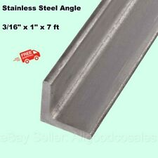 Stainless Steel Angle Iron 316 X 1 X 7 Ft 90 Hot Rolled 304 Mill Finish