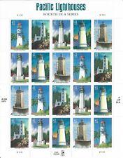 U.S.A 2007 Pacific Phares SG 4717-21 feuille 20 avec en-tête neuf sans charnière