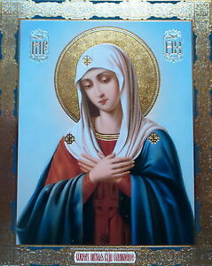 RELIGEOUS  CHURCH  Icon Russian Christian Orthodox CATHOLIC OUR LADY MARY