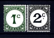 BARBADOS - 1950 - Segnatasse: cifra