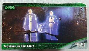 1997 STAR WARS Trilogy Widevision Card Set 1-72 - A New Hope