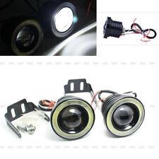 2x 30W LED Angle Eyes Lampada Nebbia Lampadine Auto Fendinebbia Luce Bianca 12V