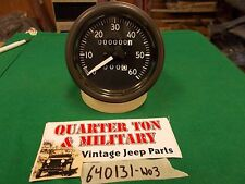 Jeep Willys MB GPW standard short needle speedometer