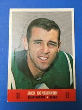 1968 Topps Football Stand-Up #3 JACK CONCANNON, Chicago Bears, Vintage