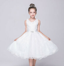 Flower Girl Dress Princess Dress Lace Bridesmaid Pageant Birthday Dresses Party