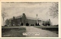 William Penn High School New Castle Delaware 1930s Postcard