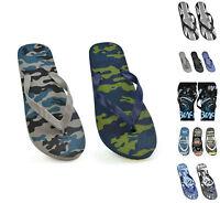 Mens Boys Flip Flops Summer Beach Swim Swimming Sandal thong Various designs