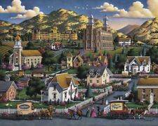 Jigsaw Puzzle Explore America Logan Utah summer 500 pieces NEW Made in USA