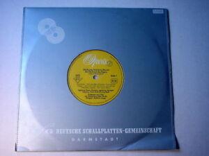 """6543) 10"""" LP - Mozart - Die Hochzeit des Figaro - Lange - Opera - 5472"""