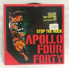 Apollo Four Forty – Stop The Rock CD Single Red