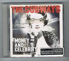 THE SUBWAYS - MONEY AND CELEBRITY - CD 12 TRACKS - 2011 - NEUF NEW NEU